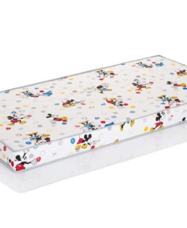 Materac lateksowy 180x90 Hevea Disney Junior Lux - Mickey & Minnie - 180/90