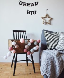 COTTON BALL LIGHTS ZESTAW  Petit