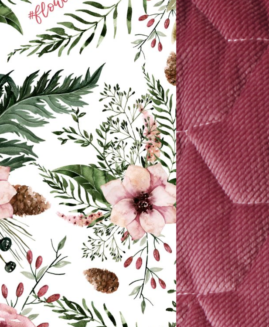 VELVET COLLECTION - ANGEL'S WINGS - WILD BLOSSOM - MULBERRY
