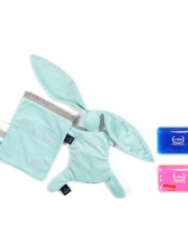 VELVET COLLECTION - THERMO BUNNY - AUDREY MINT