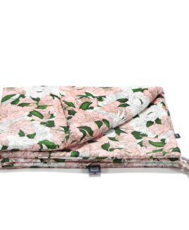 BY MAŁGORZATA ROZENEK - MAJDAN - BAMBOO BEDDING MEDIUM SIZE - LADY PEONY