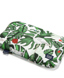BABY BAMBOO PILLOW - EVERGREEN TIGER