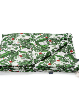 BAMBOO BEDDING KING SIZE - EVERGREEN TIGER